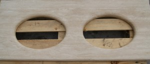 Aquacut produced vanity unit
