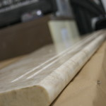 Marble step - ful bullnose
