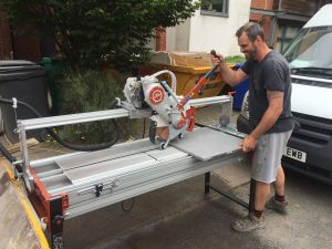 New bridge saw by Raimondi available exclusively from Tilers Tools at aquacut